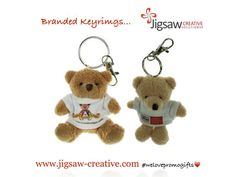 Cute Keyrings have been the theme of today's presentation and we think these two top the poll....  #welovepromogifts❤️