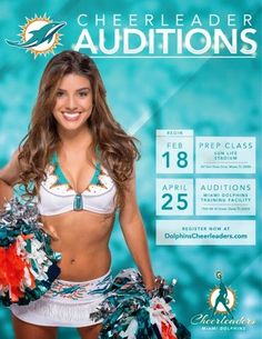 Bina Fink Promoter To The Stars: Miami Dolphins Cheerleader Auditions
