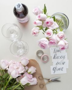 Add a pop of pink to the table with the Angels bouquet from The Bouqs Company.