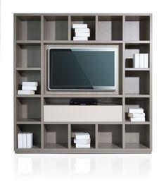 Boekenkast op maat met plaats voor de televisie, kijk voor meer mogelijkheden op www.dekastenmaker.nl