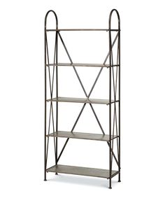 Look at this Galvanized Shelf on #zulily today!