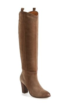 Free shipping and returns on DV by Dolce Vita 'Myste' Boot (Women) at Nordstrom.com. The knee-high Myste boot is a street-smart fusion of Western influence and timeless style. The silhouette is enhanced with topstitched pull-tabs and a scallop-cut shaft, while the stacked heel and streamlined shape keep the look clean and classic.