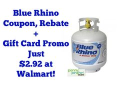 Blue Rhino Coupon Giftcard and Rebate | www.pennypinchinmom.com