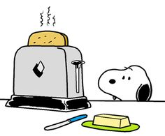 Snoopy Likes Toast? Camp Snoopy, Snoopy And Woodstock, Peanuts By Schulz, Peanuts Snoopy, Peanuts Characters, Cartoon Characters, Good Morning Snoopy, Snoopy Cartoon, Snoopy Images