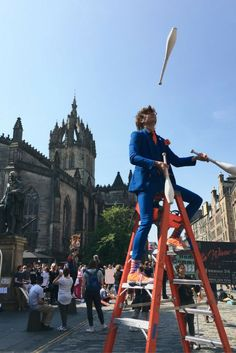 Why Edinburgh's Festivals Have To Be On Your Bucket List. Fringe Festival Edinburgh. What to Do in Edinburgh. Festivals in Edinburgh.