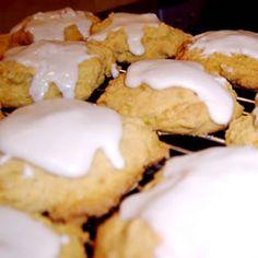 Pumpkin Cookies with Penuche Frosting Allrecipes.com