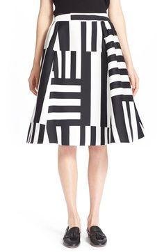 Kate Spade New York Stripe Skirt @nordstroms.com