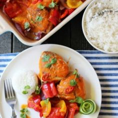 » UKEMENY 2/2017 Great Recipes, Dinner Recipes, Frisk, Creative Food, Bruschetta, Thai Red Curry, Nom Nom, Mango, Food Porn