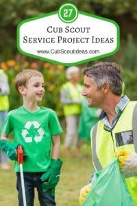 27 of the Most Helpful Cub Scout Service Project Ideas via Service is a big part of the Scouting program. Find 27 Cub Scout service project ideas to help your Scouts reap the benefits of volunteering. Cub Scouts Wolf, Beaver Scouts, Tiger Scouts, Cub Scout Crafts, Cub Scout Activities, Cub Scout Games, Scout Mom, Girl Scouts, Service Projects For Kids