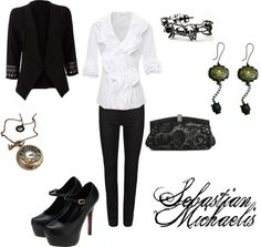 """Sebastian Michaelis"" by winterlake25 on Polyvore"