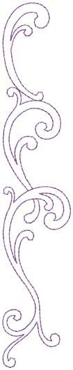 Design Combo, Straight, bean stitch (from French Curve Connection) elegant swirls Embroidery Fashion, Beaded Embroidery, Embroidery Stitches, Embroidery Patterns, Hand Embroidery, Quilt Patterns, Quilting Designs, Machine Embroidery Designs, Motif Arabesque