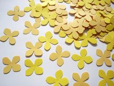 Yellow confetti!