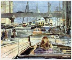 Пименов Юрий Иванович (Россия, 1903-1977) часть VI — c 1960 по 1966 годы. - «Впечатления дороже знаний...»