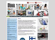Dinox Sport Oy on kuntoilu- tanssi- ja voimisteluvälineisiin erikoistunut yritys, joka myy verkkokaupassaan mm. puolapuita, balettitankoja, voimistelutarvikkeita ja lasten liikuntavälineitä.