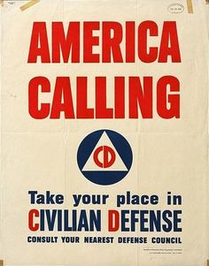 America Calling  US Office of Emergency Management  1941