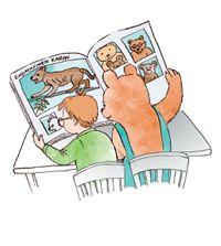 Kielikarhu - Yhdyssanakortit. Teaching Vocabulary, Comics, Comic Book, Cartoons, Comic, Comic Strips, Comic Books