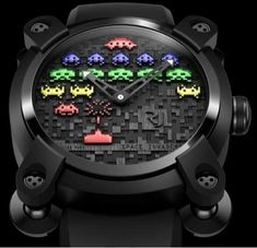 Luxury Gamer Watches - The Romain Jerome Space Invaders Collection is for Wealthy Geeks (GALLERY)