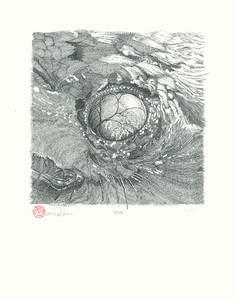 Image of Eye • Cataract Press Archival Series #003 by Simon Fowler