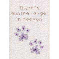 Paw Prints Angel | Special Occasions patterns at Stitching Cards.