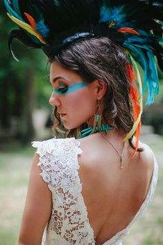 Southwestern Take On Frontier Lone Ranger Wedding   Photograph by Blest Photography  http://storyboardwedding.com/southwestern-frontier-lone-ranger-wedding/