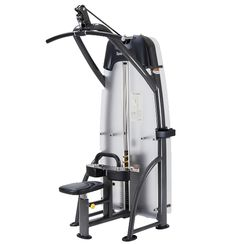 STATUS SERIE S-926 Lat pull down  - Onafhankelijke beweging - Knie kussens in hoogte instelbaar - Zitting is instelbaar en gasveer ondersteund - Extra tussen-gewichten 2x 1.5 Kg instelbaar