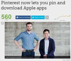 Pinterest now lets you pin and download Apple apps