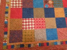 simple marks king size quilt by 4quiltsandmore on Etsy, $289.00