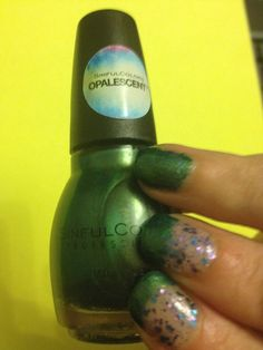 Spring #SinfulColors #Collection is Flower Power #Sinful #Colors #NailPolish #Opalescent Green