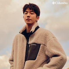 "Columbia Korea - 2019 F/W ""Fall in Fleece"" Collection Nam Joo Hyuk Cute, Nam Joo Hyuk Lee Sung Kyung, Jong Hyuk, Lee Jong Suk, Joon Hyung, Park Hyung Sik, Asian Actors, Korean Actors, Nam Joo Hyuk Weightlifting Fairy"