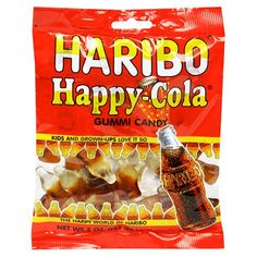 Haribo Gummi Candy, Happy Cola, 5-Ounce Bags « Holiday Adds