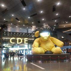 Zwischenlandung In Doha - was für ein moderner Flughafen #taipan_Vietnam #katar #doha