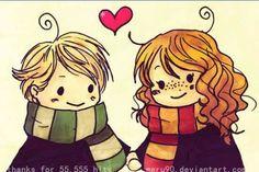 Drago et Hermione (ou Scorpius e Rose)