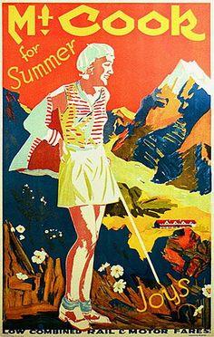 Mt. Cook for Summer