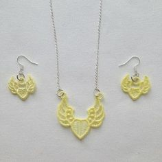 FSL Earrings And Pendant 4 embroidery design