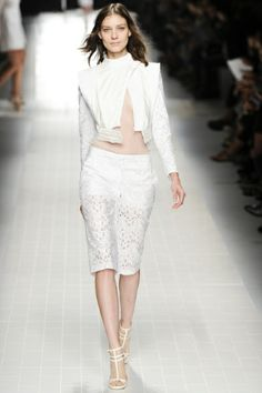 Jacket,  Sfilata Blumarine Milano - Collezioni Primavera Estate 2014 - Vogue