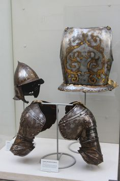 Grand Hairy One — A display of 16th and 17th century armour at the...