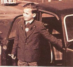 Little Rolf, Josef Mengele's only child.