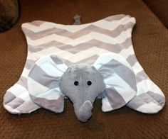 I want Chevron Grey & White Minky Elephant Snuggle Blanket / Soft Elephant Nursery, Baby Elephant, Elephant Blanket, Elephant Stuff, Elephant Theme, Our Baby, Baby Boy, Snuggle Blanket, Everything Baby