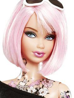 Barbie with Tattoo