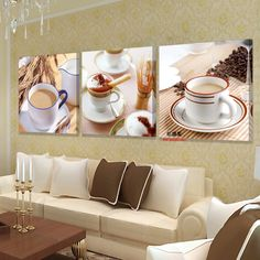 How to Sale Price US $3.11 Discount 43% kitchen home decoration wall modular painting flower decor art canvas modern pictures for sale paint flowers kunst bilder green without breaking a sweat #Painting#Calligraphy