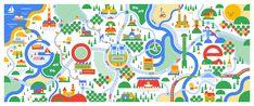 Belgian Google Doodle - KHUAN+KTRON