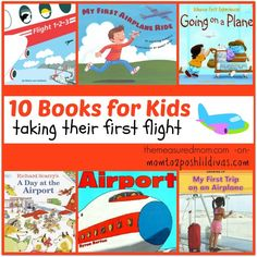 Your kids will take off in style with these 10 books for first flights! (via Mom to 2 Posh Lil Divas)