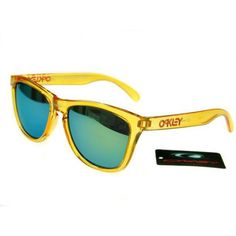 $12.99 Replica Oakley Frogskins Sunglasses Yellow Blue Iridium Clear Yellow Frames Online Deals www.racal.org Cheap Ray Bans, Cheap Ray Ban Sunglasses, Sports Sunglasses, Sunglasses Sale, Sunglasses Online, Mirrored Sunglasses, Holbrook Sunglasses, Oakley Frogskins, Fashion Brand