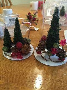 DIY Wine Glass Snow Globes - Anika Burke