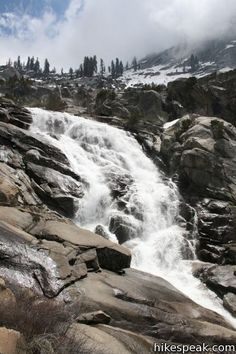 Tokopah Falls- tallest waterfall in Sequoia National Park