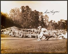 Ben Hogan Signed Photograph.