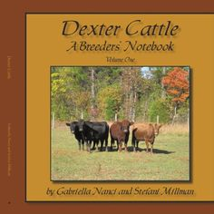 Dexter Cattle: A Breeder's Notebook is a collection of notes and photo illustrations on the history, selective breeding, management, and genetics of Dexter Cattle. The information has been gathered over twenty years of Dexter breeding. Alaska Homestead, Dexter Cattle, Selective Breeding, Beef Cattle, Pets For Sale, Teacup Chihuahua, Mountain Dogs, Bernese Mountain, Labrador Retriever Dog