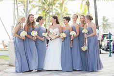 My Best Friend's Wedding | Glam, Glitter and Gold- Bari Jay dresses in Shadow Chiffon
