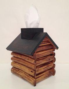 log cabin tissue box #giftlocal #winyourgiftlist