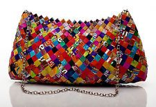 Candy Wrapper,magazine, recycled, gum wrapper, eco, fun, gift, purse,bag,